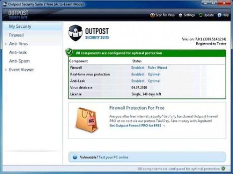 Antivirus e Firewall gratis per Windows - Download miglior firewall free - Firewall free da scaricare gratis