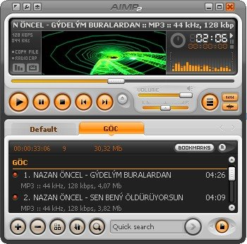 Download Player audio per ascoltare musica MP3 su computer - AIMP