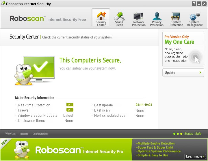 Download Scaricare antivirus gratis per PC Windows - Scarica ultima versione di Roboscan Internet Security Free