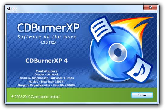 Download gratis ultima versione di CDBurnerXP in italiano - Miglior programma di masterizzazione gratuito per CD e DVD