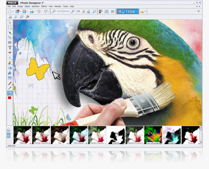 Fotoritocco gratis - magix photo designer 7