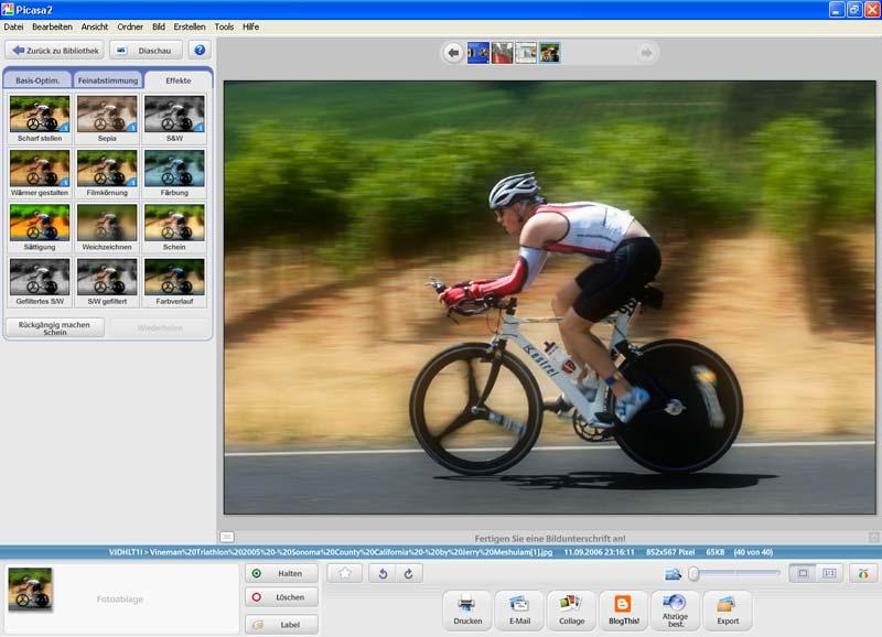 Programma per organizzare e visualizzare le foto - Picasa progamma free per modificare foto con effetti