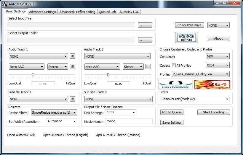 Download miglior programma per convertire DVD in Divx gratis - programma per conversione file video gratis