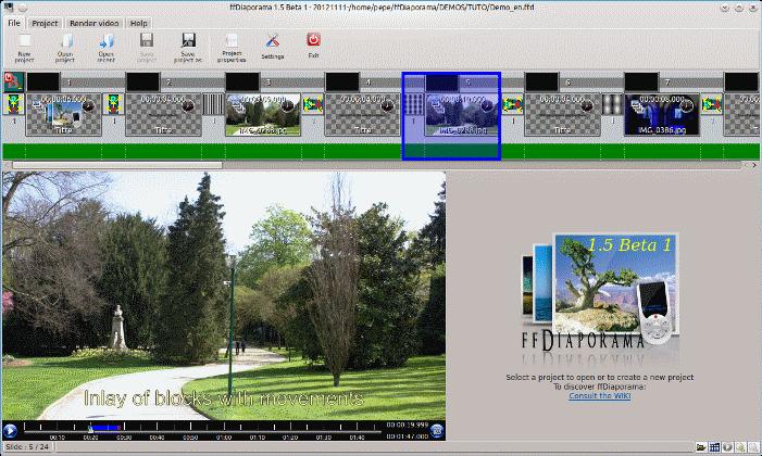 ffDiaporama - Download miglior programma per fare video con foto e musica ed effetti gratis