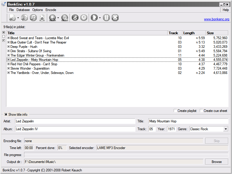 Freac - programma gratis per estrazione tracce e conversione file audio