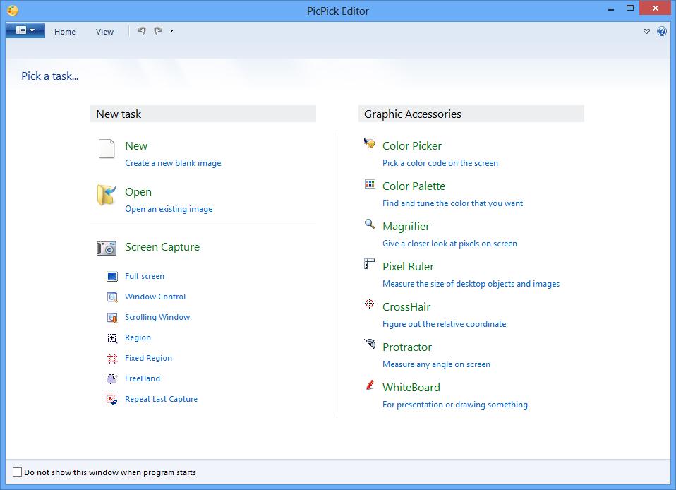 PicPick - Download miglior programma per catturare immagini dallo schermo desktop PC
