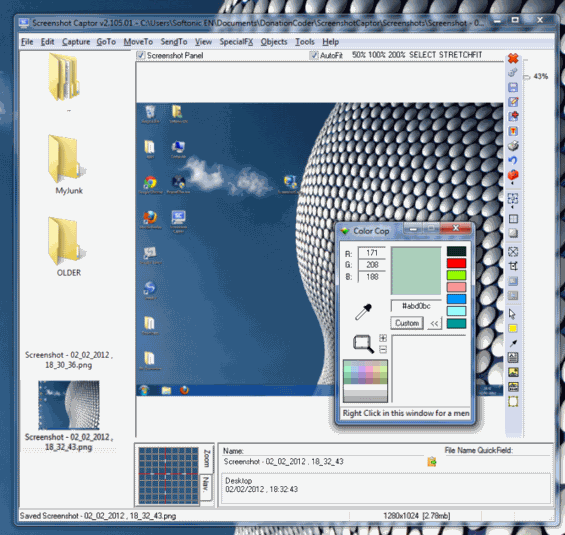 ScreenShot Captor - download miglior programma per scattare foto allo schermo gratis