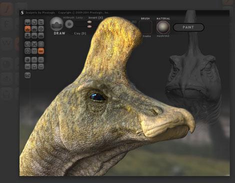 Sculptris - download miglior programma gratis per modellare in 3D - programma per la modellazione di mesh 3D